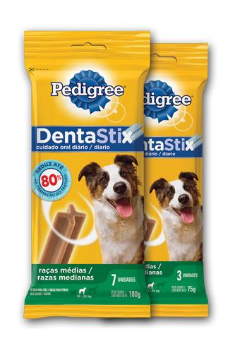 Denta Stix - Raças médias