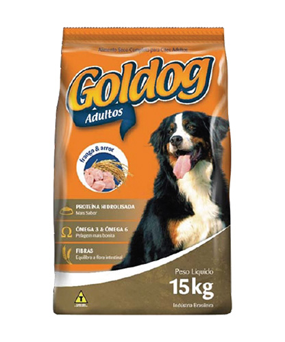 Goldog frango e arroz