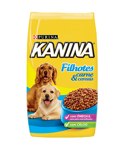 Kanina Filhotes - Carne E Cereais