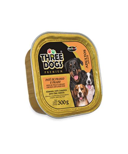 Patê Three Dogs - Frango & Fígado