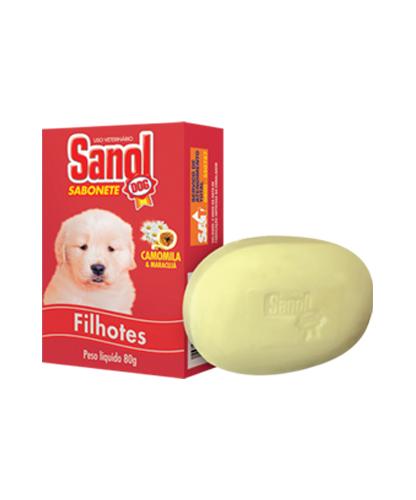 Saboneete Sanol Filhotes