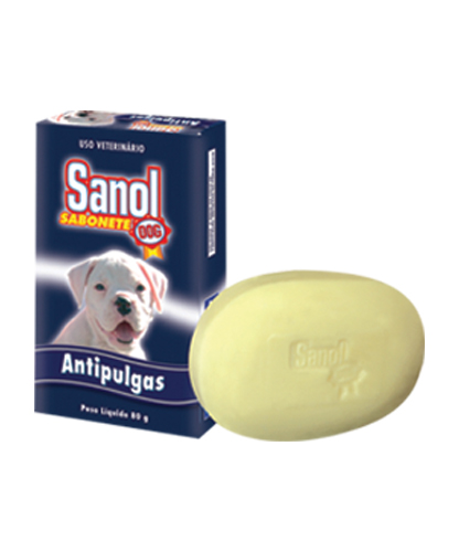 Sabonete Antipulgas Sanol