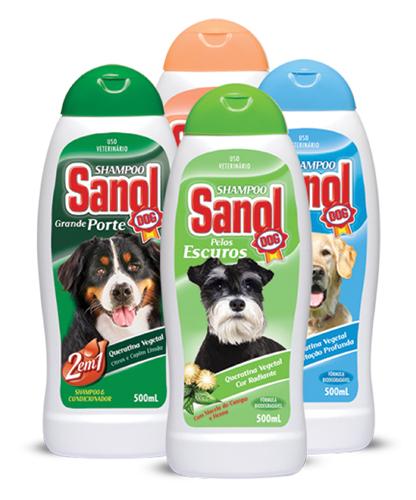 Shampoo Sanol - Diversos