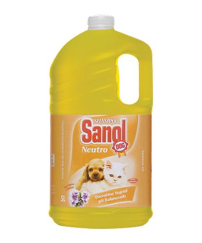 Shampoo Sanol Neutro 5 Lts