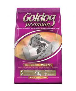 Goldog premium raças pequenas medio porte