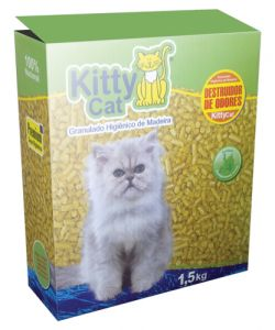 Granulado Higiênico Kitty Cat