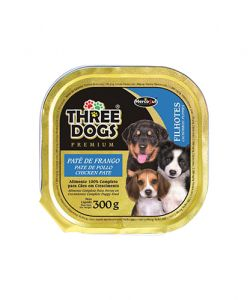Patê Three Dogs - Frango