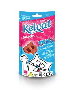 Snacks Kelcat - Duo Peixe & Fígado